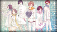 Snow trick Yurin, Kogeinu, Chiko, Rib, Kano, Tsukinowa