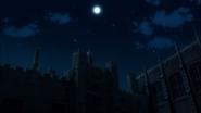Saotome Academy at night