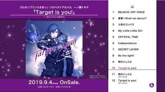 うたの☆プリンスさまっ♪ソロベストアルバム 一ノ瀬トキヤ「Target is you!」