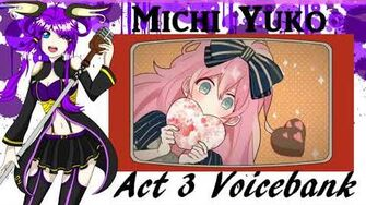 Utau Newcommer Dremin' Chu Chu Michi Yuko Act 3