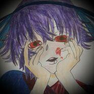 Ran Kitsune Yandere-face