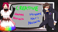 Creative Hanae and Hayate Masara