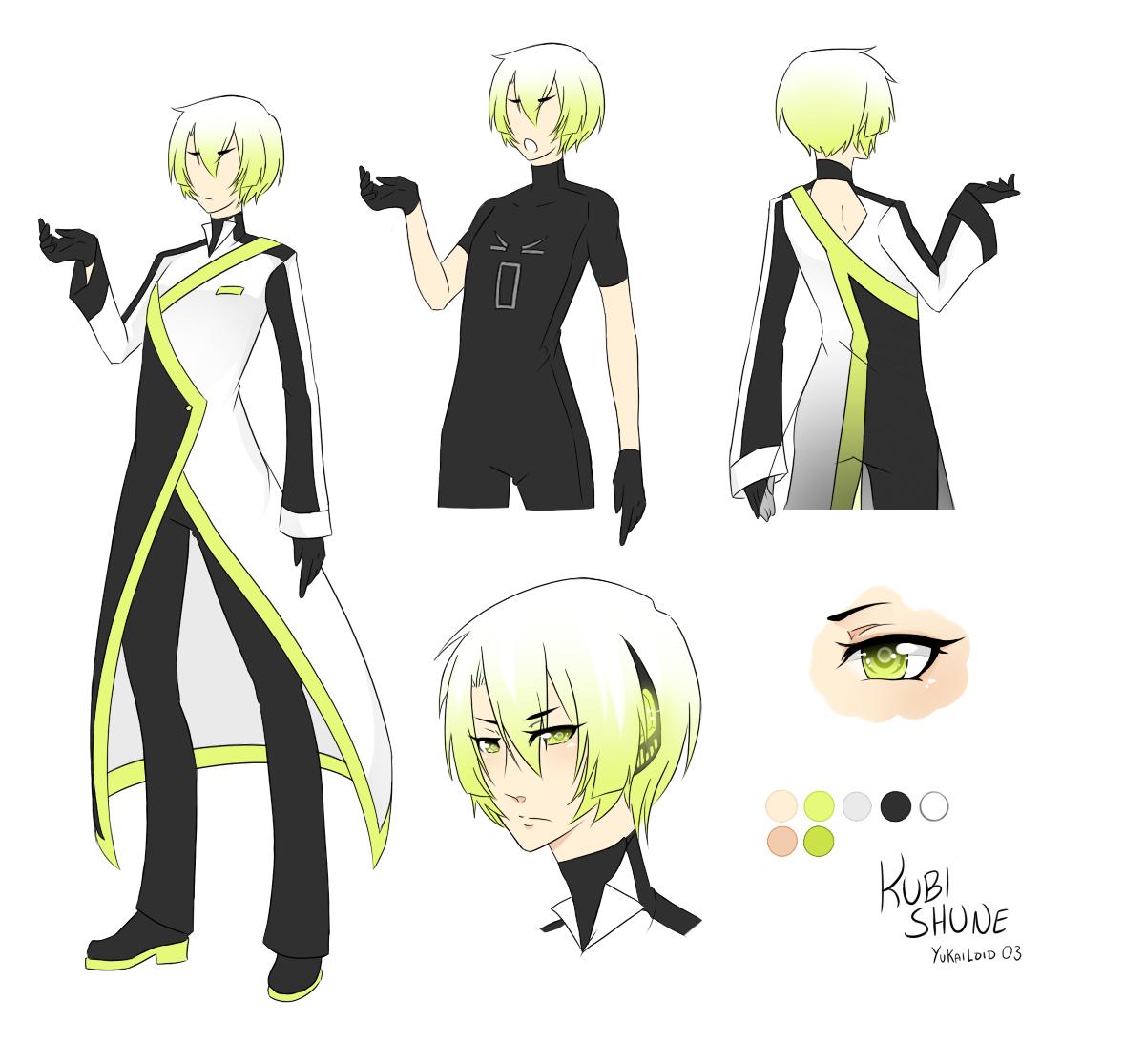 Character Design University Canada : Image kubi shune reference sheet utau wiki