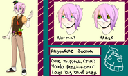 Souma Kagyakune Official Reference