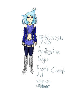 Aoitorine Fuyu Font Concept