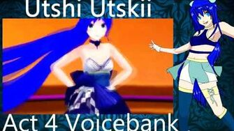 MMD And Utau Hi Fi Raver Utshi Utskii Act 4 Voicebank Downloads