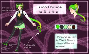 Yuina Ref sheet