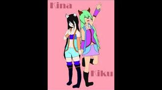 -Utau Newcommers- Kina And Kiku Megami -Reincarnation-