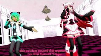 【UTAU MMD +Model】 Children's War Ft. Po and Sin-Ga