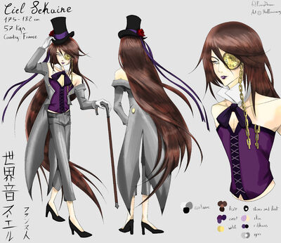 Ciel sekaine reference full