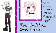 Rene Baudelaire Official Reference