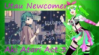 Utau Newcommer Heart A La Mode Aki Atari Act 3