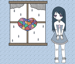 """Image of """"Stained Glass Heart"""""""