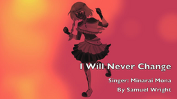"Image of ""I Will Never Change"""