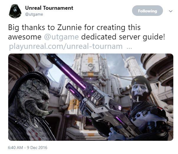 UT4WindowsServerSetup | Unreal Tournament community content Wiki