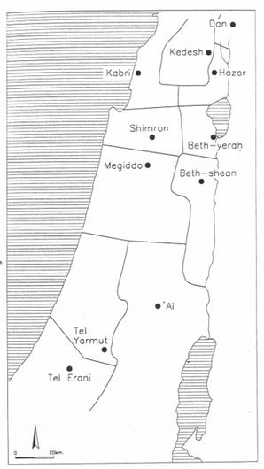 Hazor location