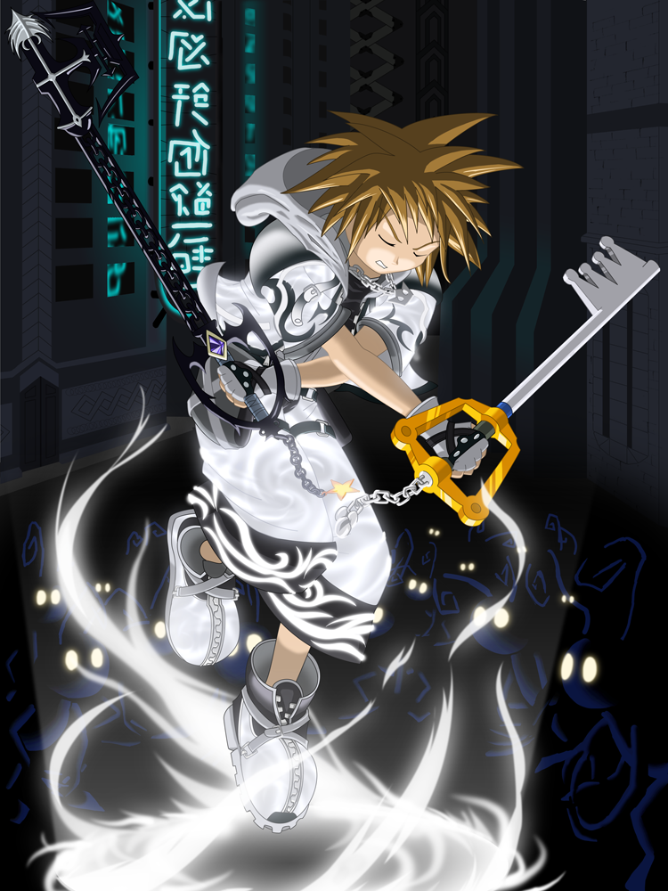 Image - Sora Master Form by dstears.png | Ultimate Showdown Wiki ...