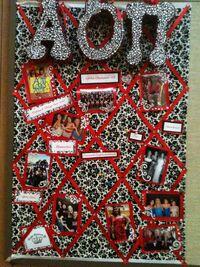 Alpha Omicron Pi Board