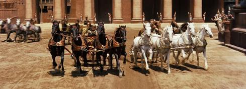 Chariot Race Ben-Hur