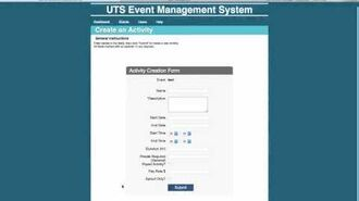 Add activity to an Event