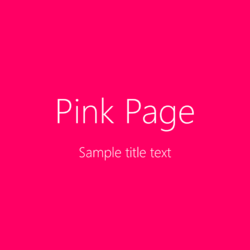 Pinkpage