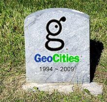 Geocities grave