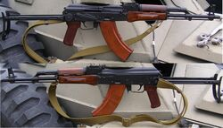 Soviet Russian 1969 AKMS