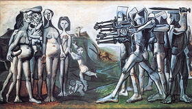 Masakra w Korei Pabla Picassa 1951 r