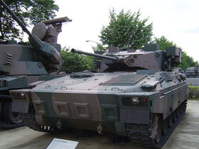 800px-JGSDF IFV Type 89 at JGSDF PI center
