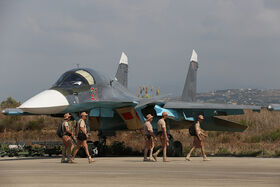 Suchoj Su-34 at Latakia