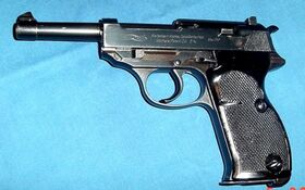 Walther p38 hp contrat suedois cal 9-1