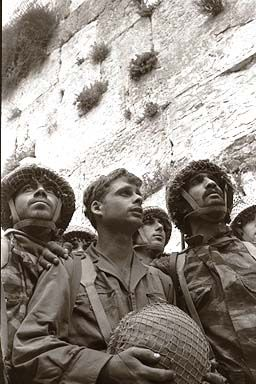 Soldiers Western Wall 1967