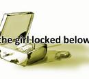 The girl locked below