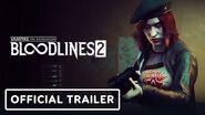 Vampire The Masquerade Bloodlines 2 - Official Damsel Trailer Summer of Gaming 2020