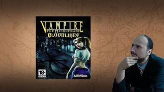 "Gaming History Vampire The Masquerade Bloodlines – ""The Venus de Milo of gaming"""