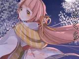 桜吹雪と朧月 (Sakura Fubuki to Oborozuki)