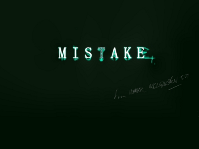 MISTAKE | Vocaloid Lyrics Wiki...