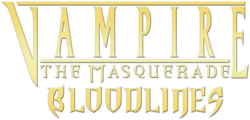 Vampire - The Masquerade - Bloodlines (Logo)