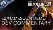Vampire The Masquerade - Bloodlines 2 - E3 Gamescom Demo With Ka'ai Cluney