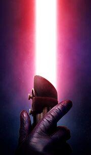 Vader's lightsaber