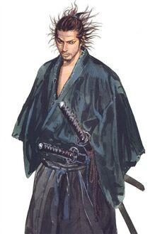 Miyamoto Musashi full body