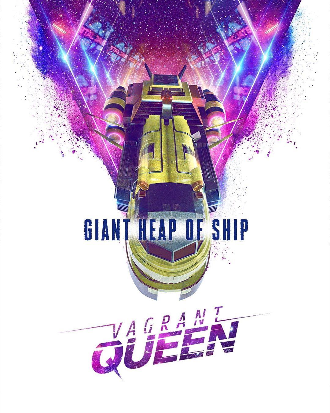 Vagrant Queen Serie