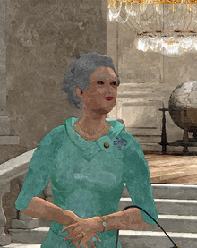 Official 2014 Portrait of HM Queen Elizabelph II