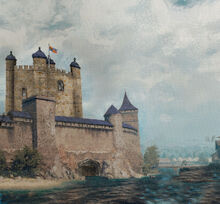 Tower of Vaheria Painting