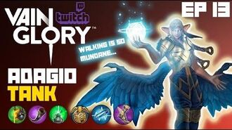 Vainglory - Twitch Matches Ep 13 Armor Plated Adagio Tank Jungle Gameplay