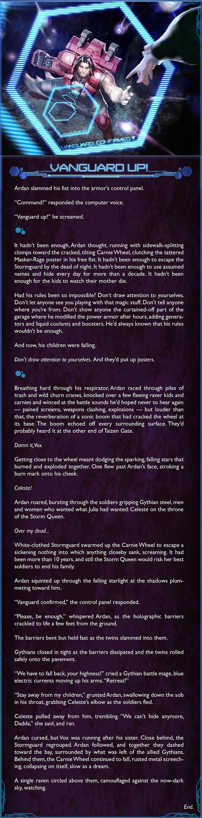 Ardan third lore