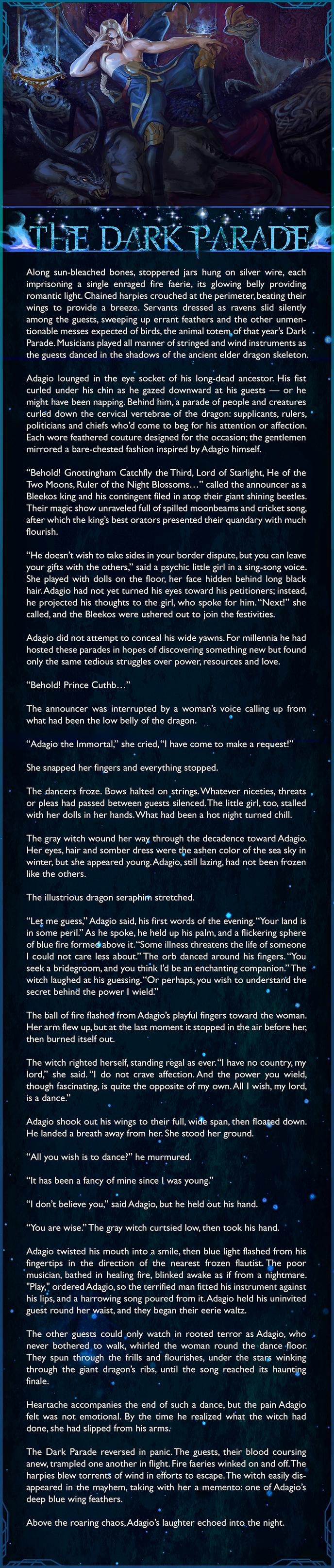 Adagio lore