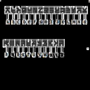 Vaktovian Alphabet