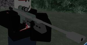 M98 high power sniper rifle