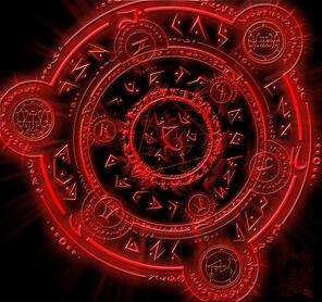 Demonic circle by SHimmortal